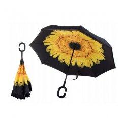 Obrácený deštník Žlutý květ