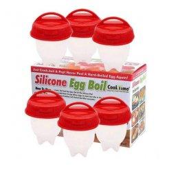 Silikónové formičky na varenie vajec