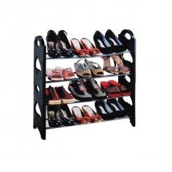 Összecsukható SHOE RACK cipőtartó 12 cipő pár számára