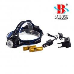 BAILONG újratölthető fejlámpa BL 6699 ZOOM LED