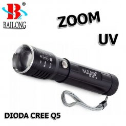 Bailong baterka BL-801-2 Led Q5 CREE Zoom