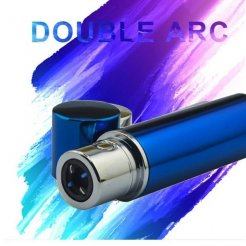 Plazma Double Arc öngyújtó kék