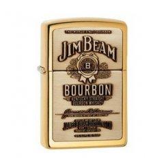 ZIPPO öngyújtó 23156 Jim Beam Brass Emblem
