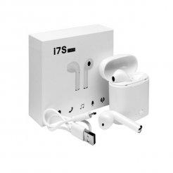I7S TWS vezeték nélküli Bluetooth fülhallgató töltőtokkal