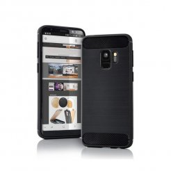 Púzdro Protec Carbon Samsung A6 Plus 2018
