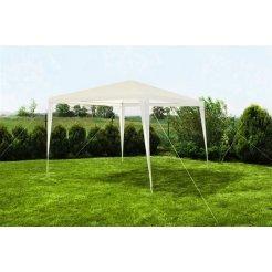 Záhradný pavilón altán 3 x 3m biely