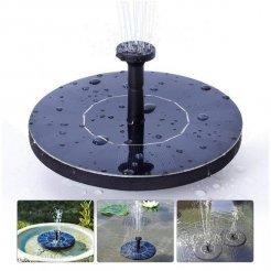 Zahradná solárna fontánka