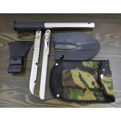 Multifunkčná lopatka, sekera, nôž - 8 funkcií