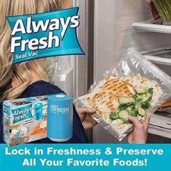 Vakuovačka + vákuové sáčky Always Fresh