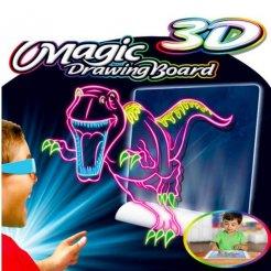 Magická kresliaca 3D tabuľka