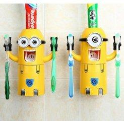 Dávkovač a držiak zubnej pasty - Mimoň