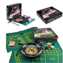 5az1be póker- rulett- Black Jack- kocka- szett