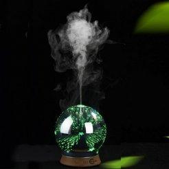 CARRUZZO Ultrahangos aromás diffúzor 3D RGB-vel