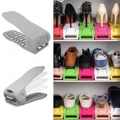 Cipő szervező - szürke
