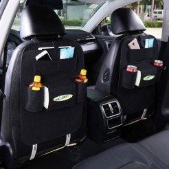 Organizer na sedačku do auta - čierny