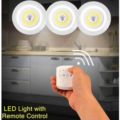 Vezeték nélküli LED-es lámpa készlet távirányítóval