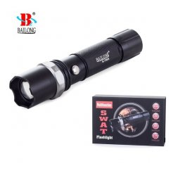 BAILONG SWAT baterka CREE XP-E ZOOM T8626