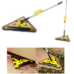 Bezdrôtová trojuholníková mechanická metla dobíjacia