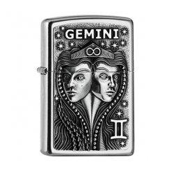 Zapalovač zippo 25551 Gemini Zodiac Emblem