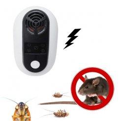 Ultrahangos LED-es rovar- és rágcsáló riasztó