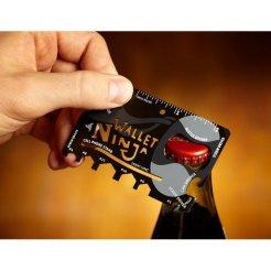 Multifunkčná karta Wallet Ninja 18v1