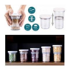 Állítható, zárható élelmiszer tárolóedény