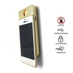 Elektronikus USB öngyújtó - mini iPhone