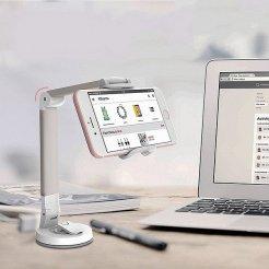 Állítható mobiltelefon-tartó tapadókoronggal