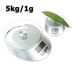 Konyhai elektronikus mérleg LCD kijelzővel 5kg / 1g