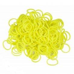 Loom Bands gumičky s háčkem na pletení- žlté