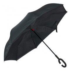 Kifordított fekete esernyő