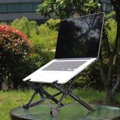 Utazási összecsukható laptop tartó