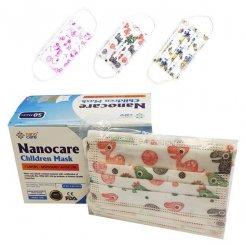 Hygienické rúška na ústa NanoCare detské Postavičky 10 ks