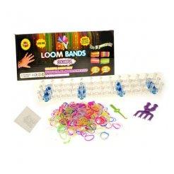 Loom bands gumičky sada 600 ks + príslušenstvo