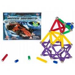 Mágneses 3D 250 db-os összerakó játék