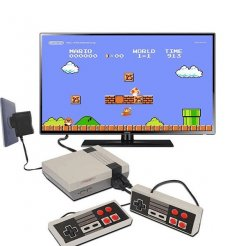 Retro TV játékkonzol 620 játék + 2 vezérlő
