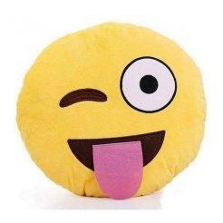 Plüsspárna Emoji 30 cm - nyelv emoji