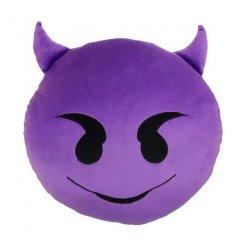 Plüsspárna Emoji 30 cm ördög
