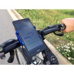 Otočný držiak mobilu na bicykel