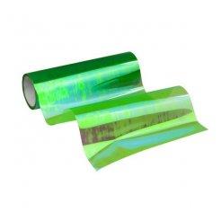 Termoplastická samolepiaca fólia na svetlá zelená chameleon