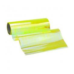 Termoplastická samolepící fólie na světla žlutá chameleon