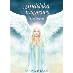 Andělská inspirace, kniha + 44 karet