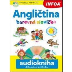 Audiokniha - Angličtina - Barevná slovíčka + mp3 CD