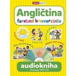 Audiokniha - Angličtina - farebná konverzácia + MP3 CD (SK vydanie)