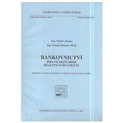Bankovnictví pro studijní obor realitní inženýrství