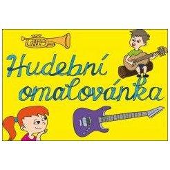 Eliška Ostrušková - Hudební omalovánka