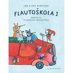 Flautoškola 1 - Učebnice hry na sopránovou zobcovou flétnu