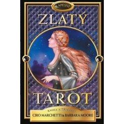 Kapesní Zlatý tarot - kniha a 78 karet