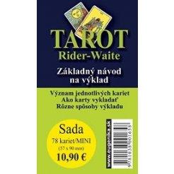 Karty - Tarot Rider Waite/mini/SK (karty + brožúrka)