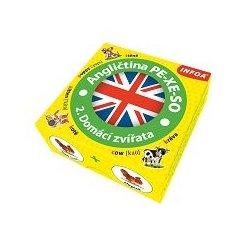 Krabicová hra - Angličtina PE-XE-SO - 2. Domácí zvířata